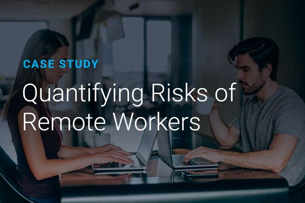 Quantifying Risks of Remote Workers